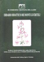 Erbario didattico dei Monti Lucretili