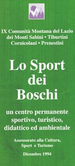 Lo sport dei boschi